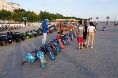 Strandpromenade in Aqtau