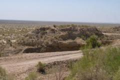 Übernachtung in Moʻynoq am Aralsee