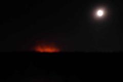 Steppenbrand am Aralsee
