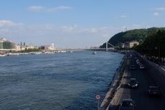 Die Donau in Budapest