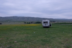 Schlafplatz am Jandari See