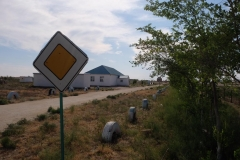 Verkehrsübungsplatz in Kasachstan