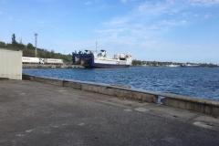 Warten auf die Fähre in Odessa
