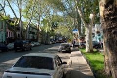 Spaziergang durch die Straßen von Odessa