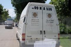 Ankunft in Qazax - 1.  Stadt in Aserbaidschan