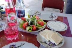 1. Mittagessen in Aserbaidschan
