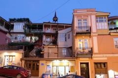 Tiflis bei Nacht