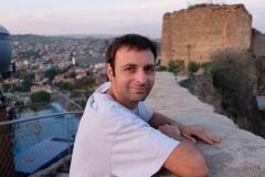 Rund um die Seilbahnstation in Tiflis