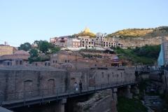 Ansichten von Tiflis (georgisch Tbilissi)
