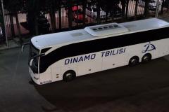 Mannschaftsbus von Dinamo Tiflis