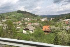 Dorf in der Ukraine