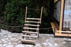 Auf dem Weg zum Yeddi Gozel Waterfall