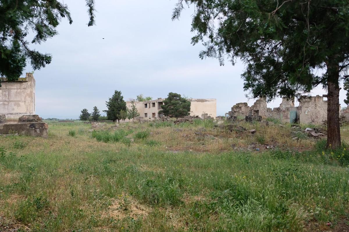 Geisterstadt hinter Rustawi - Georgien