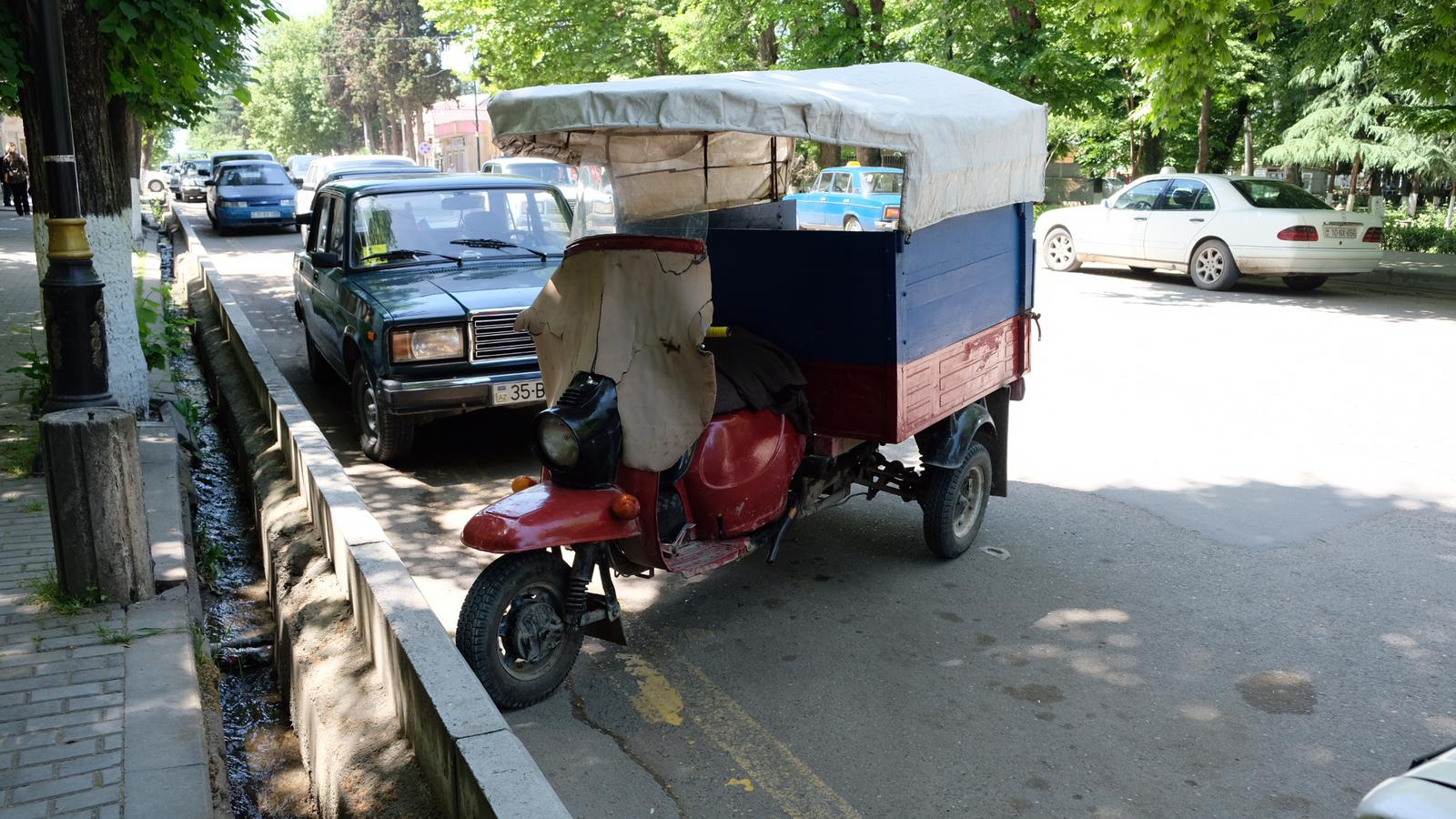 Qazax - Ankunft in Aserbaidschan
