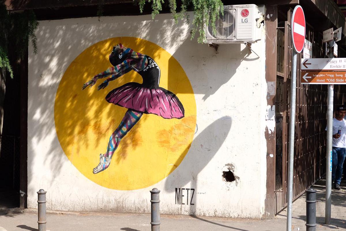 Tiflis Streetart