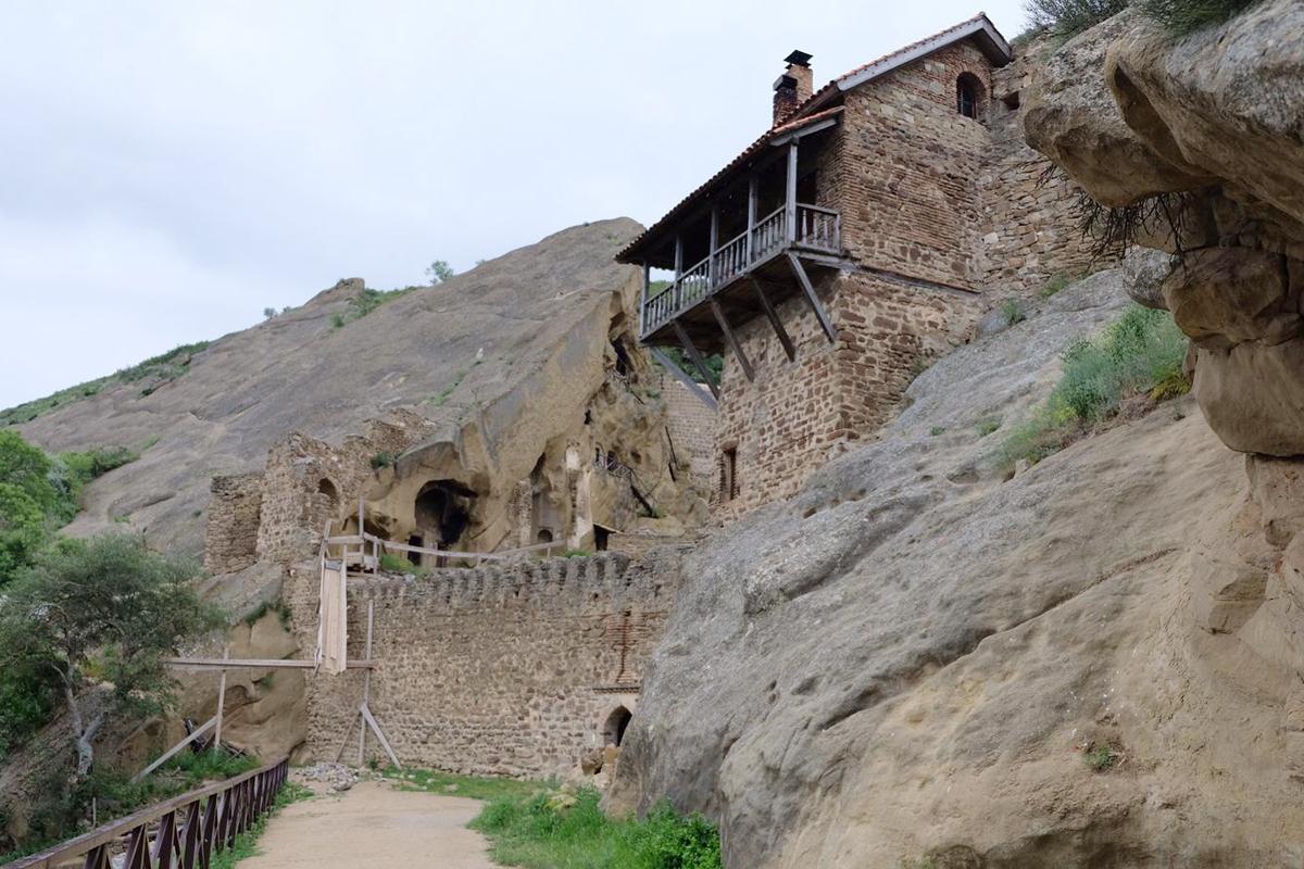 Udabno und Kloster Dawit Garedscha