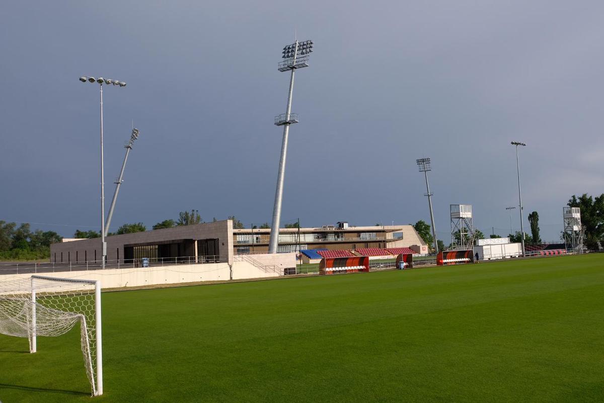 Stadiongelände Qäbälä