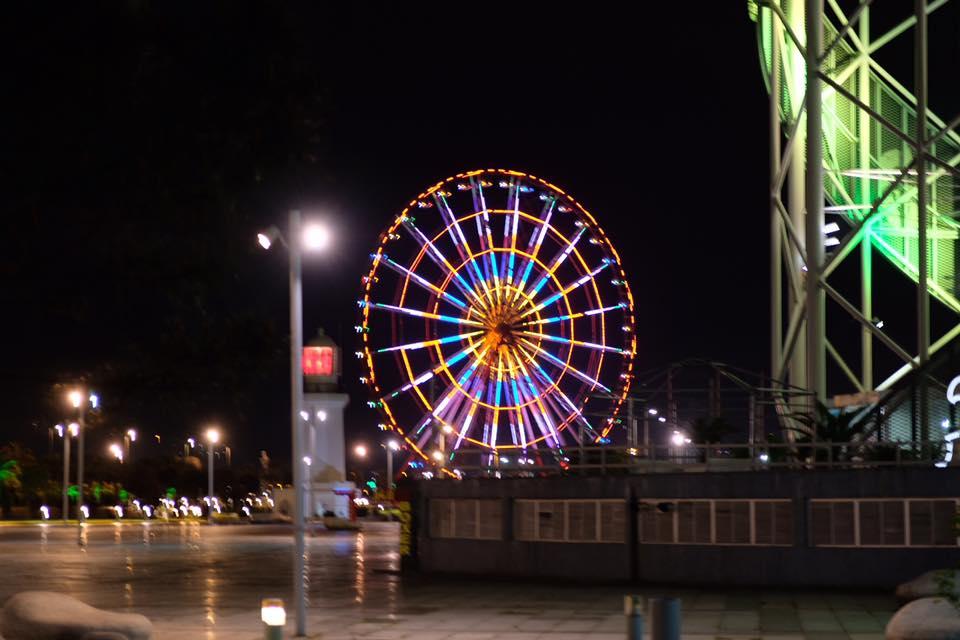 Nachts in Batumi