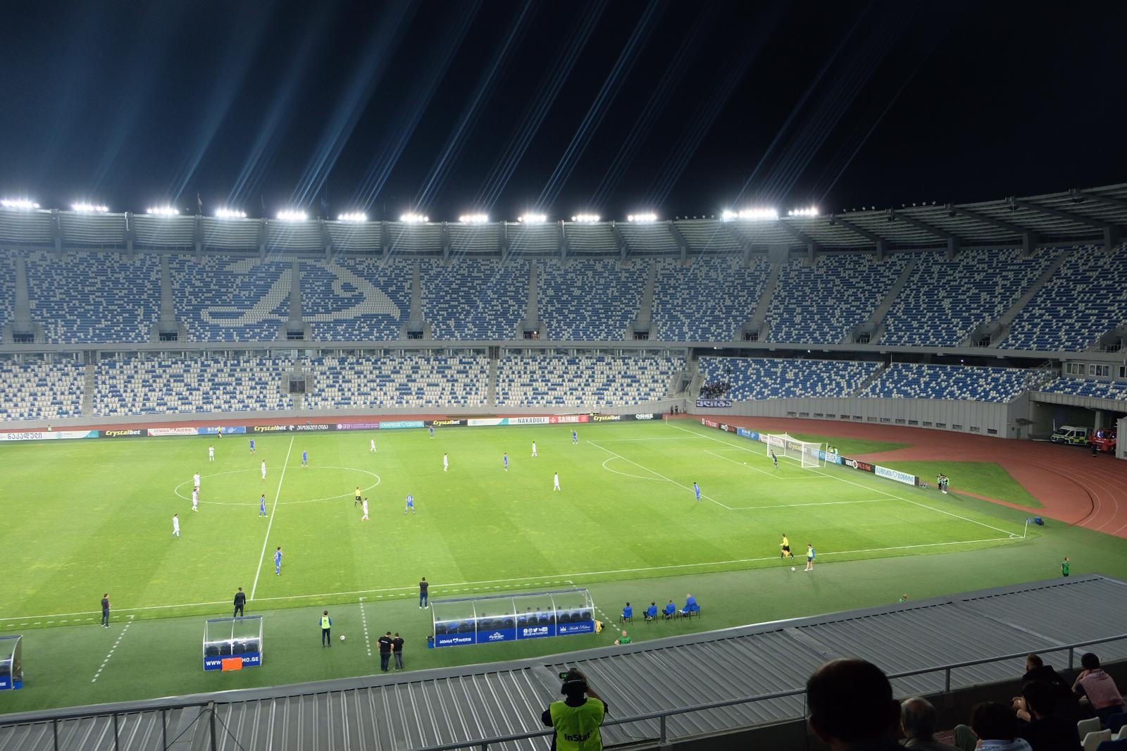 Lokalderby im Boris-Paitschadse-Nationalstadion Tiflis