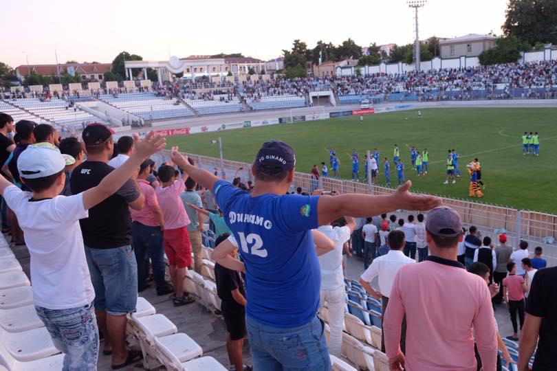 Grundhopping Dinamo Samarkand