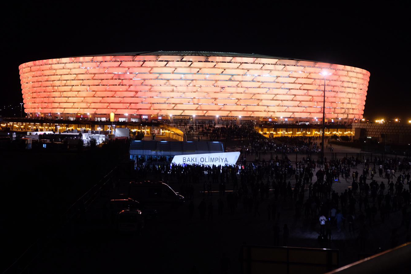 Stadion Europa-League-Finale 2019 in Baku