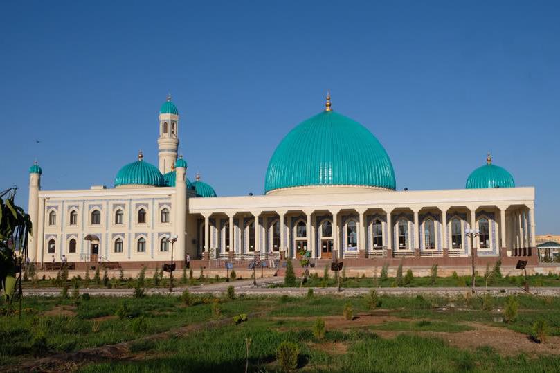 Nukus Hauptstadt der Autonomen Republik Karakalpakistan in Usbekistan