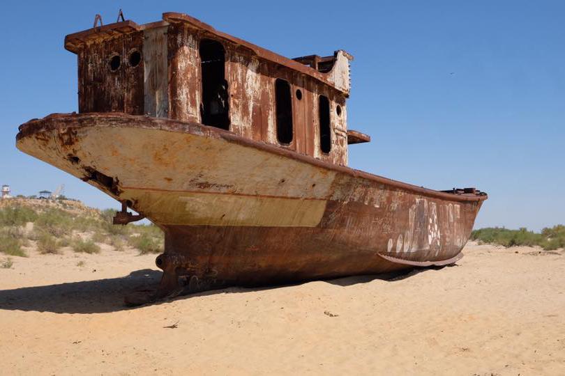 Schiffsfriedhof Aralsee Usbekistan