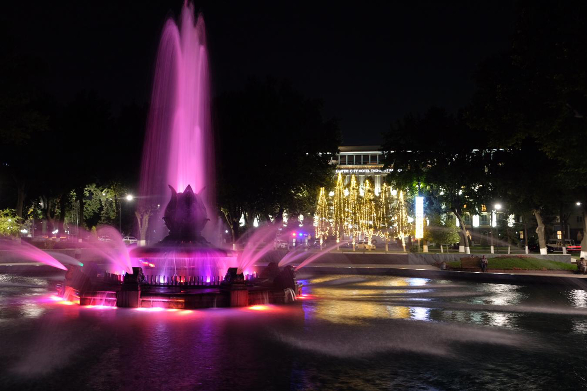 Taschkent am Abend