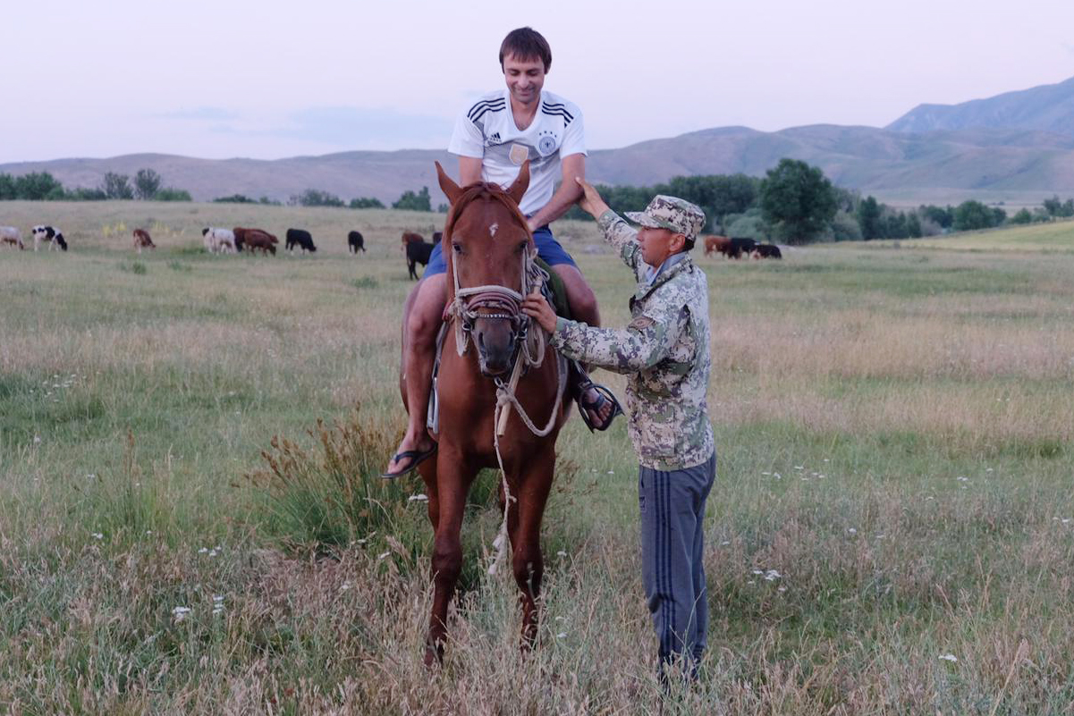 Cowboys in Kasachstan