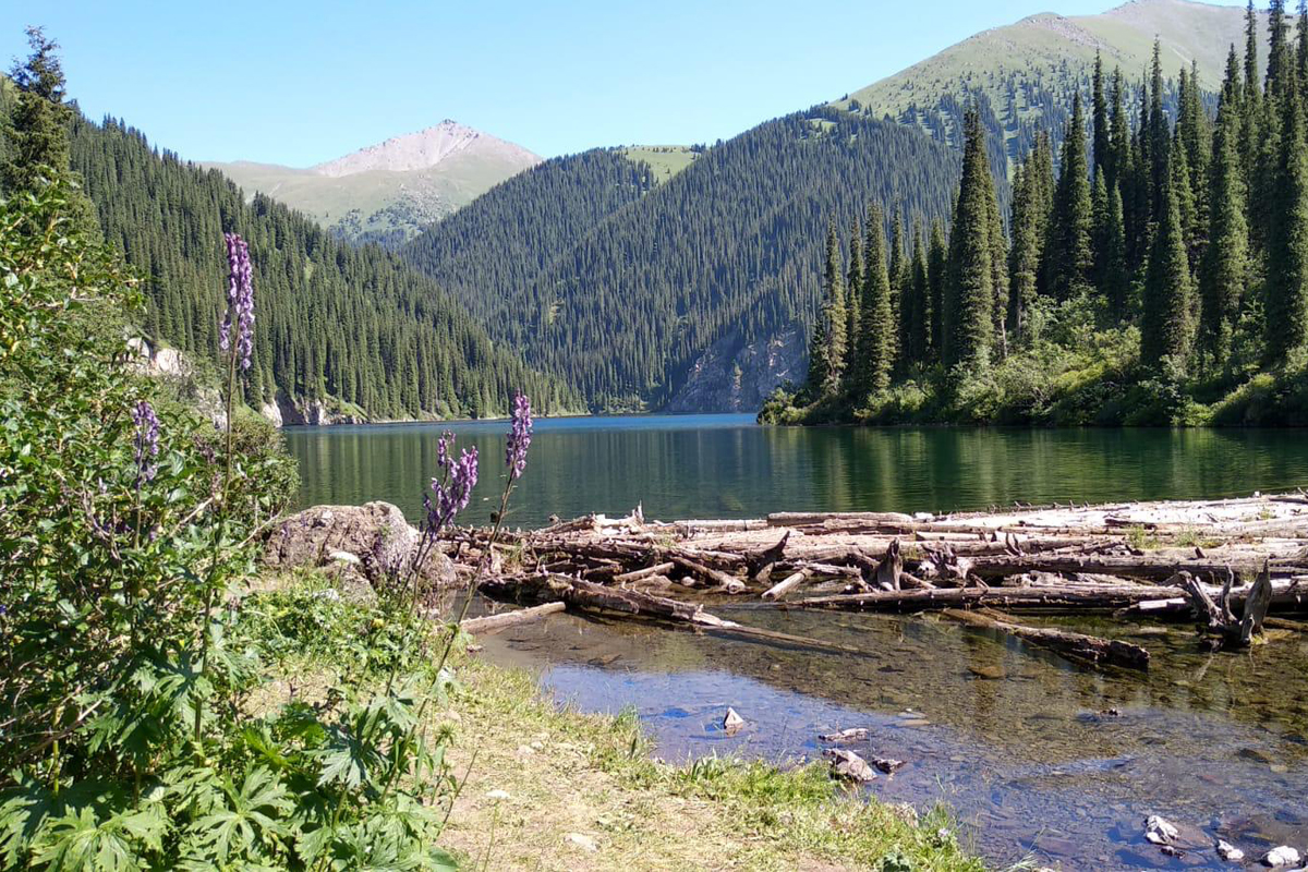 Naturschutzgebiet der Kolsay-Seen in Kasachstan