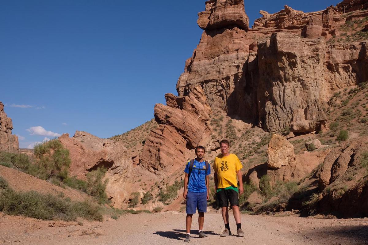 Sharyn Canyon in Kasachstan