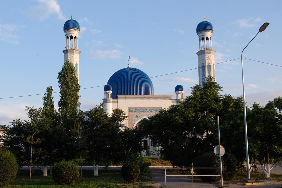 Stadt Taras in Kasachstan