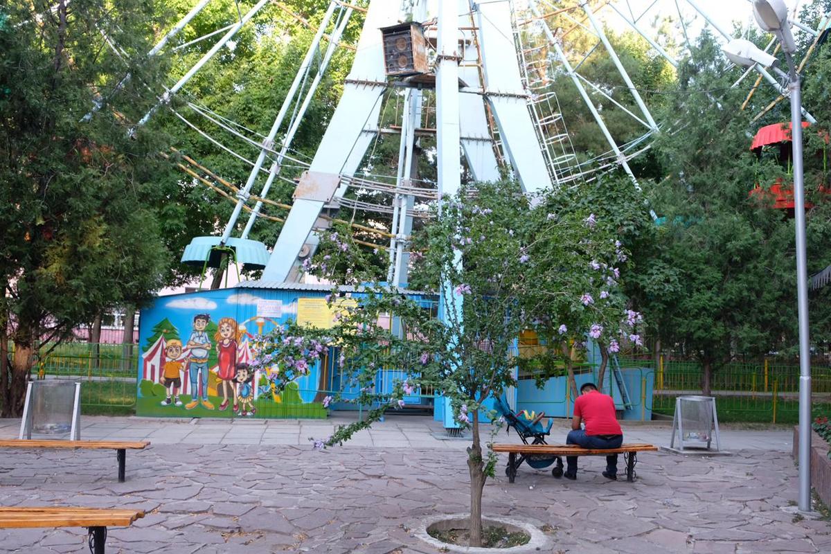 Vergnügungspark in Taras - Kasachstan