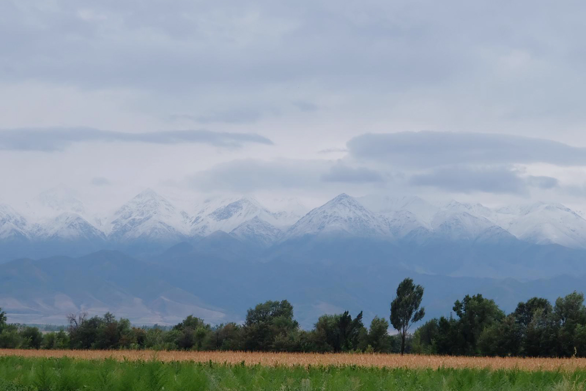 Kegeti-Schlucht in Kirgisistan
