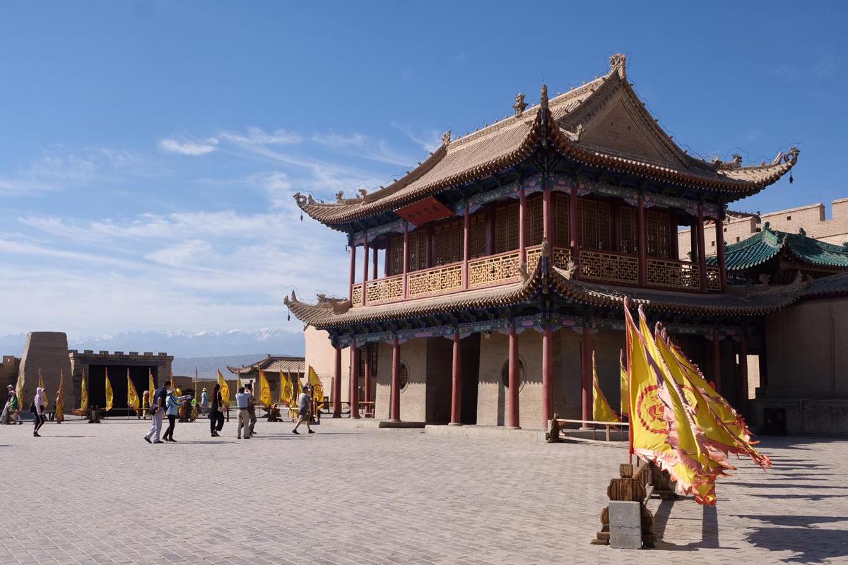 Chinesische Mauer bei Joayugan