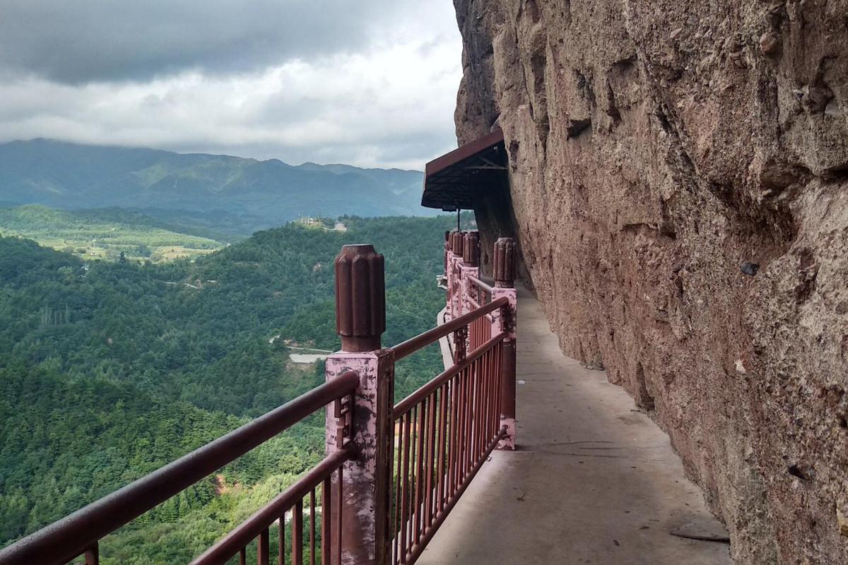 Maijishan-Grotten