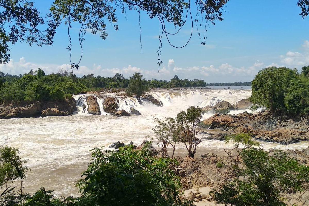 Nam Tok Khon Phapheng Wasserfall Laos
