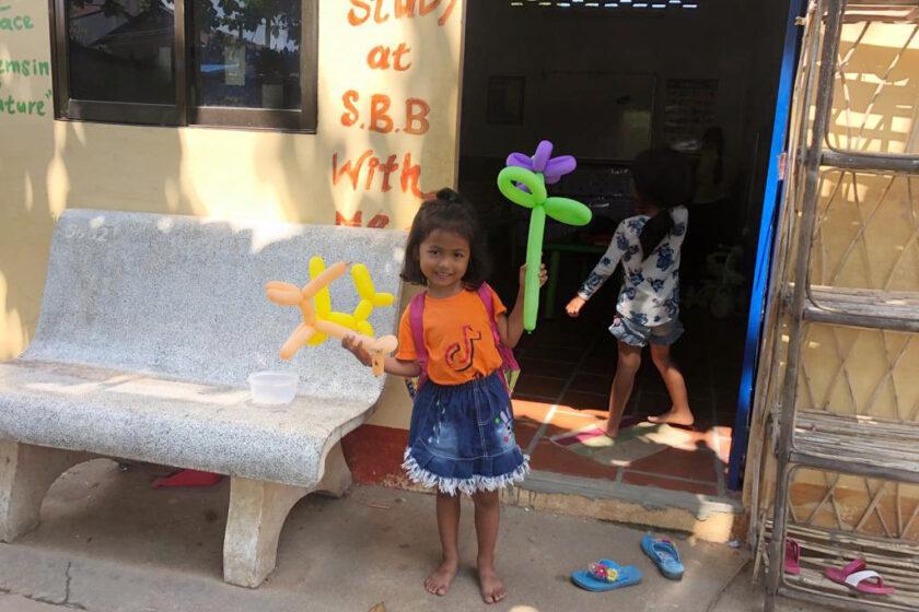 Wohnmobil-Spende für ein Schulprojekt in Kambodscha