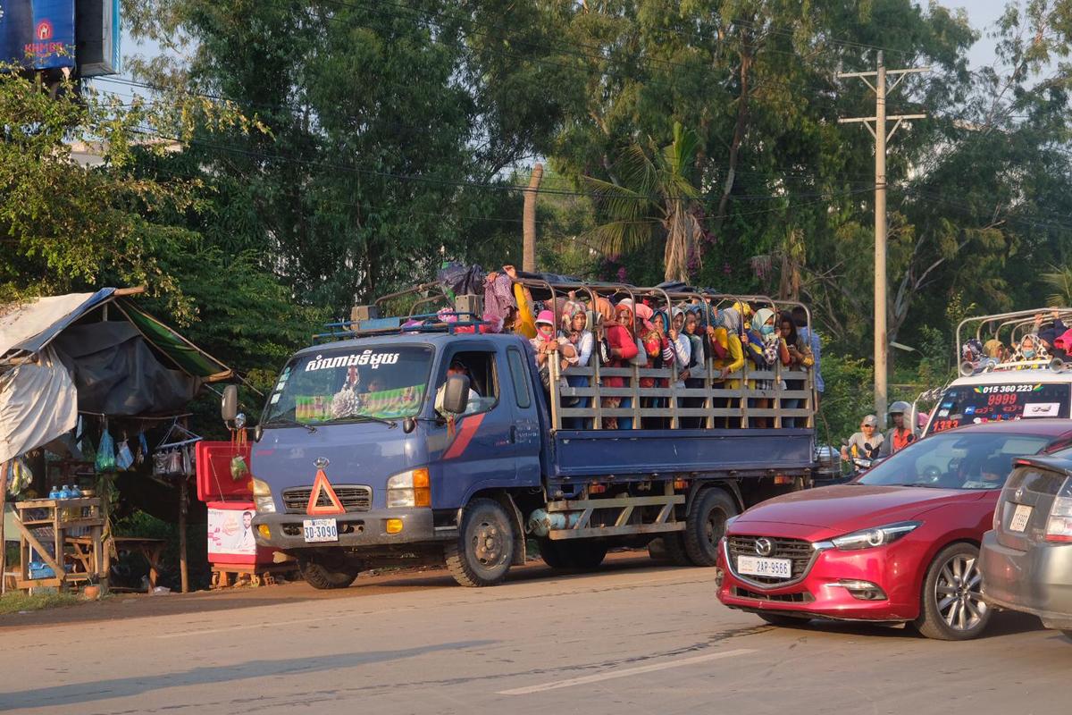 Von der Insel back in Phnom Penh